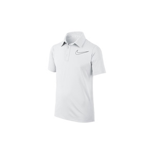 Polo Nike junior Blanc