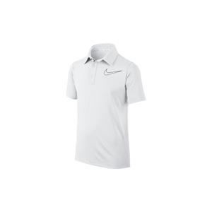 Polo Nike junior Blanc