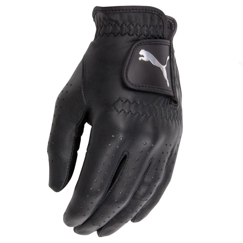 puma noir cuir