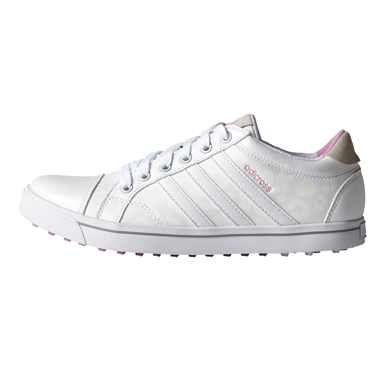 Adidas adicross IV blanc et rose