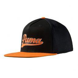 Casquette | Puma | Noir & Orange | Junior