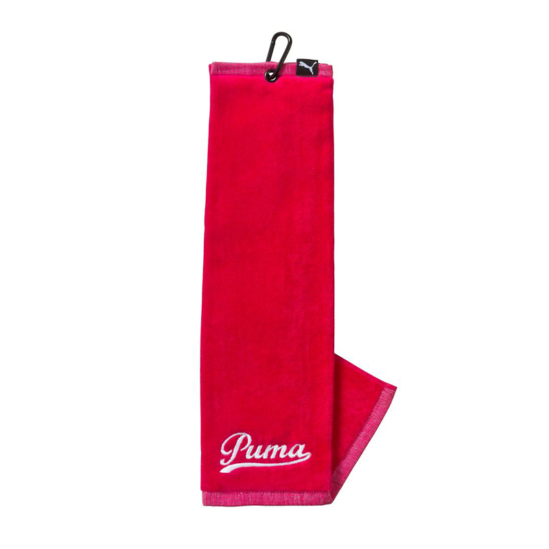 Serviette puma rose