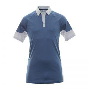 Polo Adidas Bleu et Gris