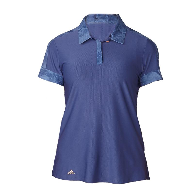 Polo Adidas Bleu marin