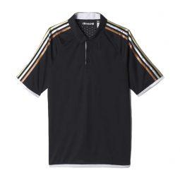 Polo Adidas Noir 3 lignes