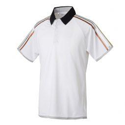 Adidas Polo Blanc 3 lignes