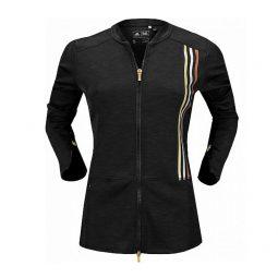 Adidas veste noir 3 lignes