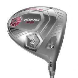 Driver Cobra King F8 Femme Gris et rose ajustable
