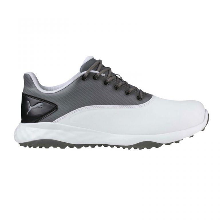 chaussures Puma Grip Fusion 189425-03 blanc et gris
