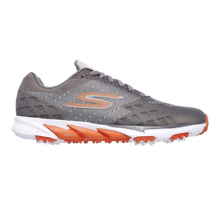 Chaussures Skechers homme 54520 CCOR Gris et orange
