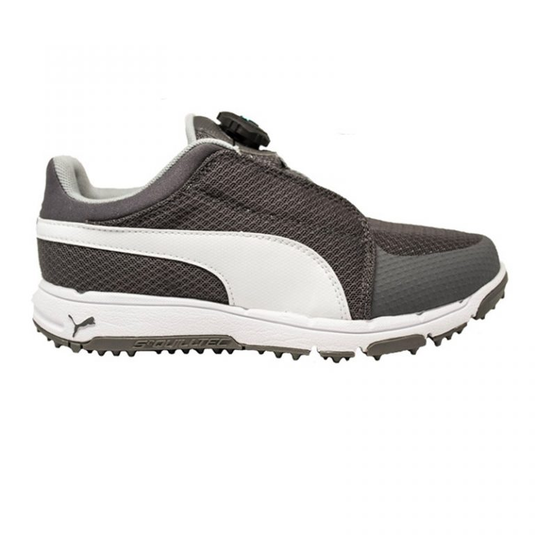 Souliers Puma Grip Sport Disc Junior 189605-01 Gris