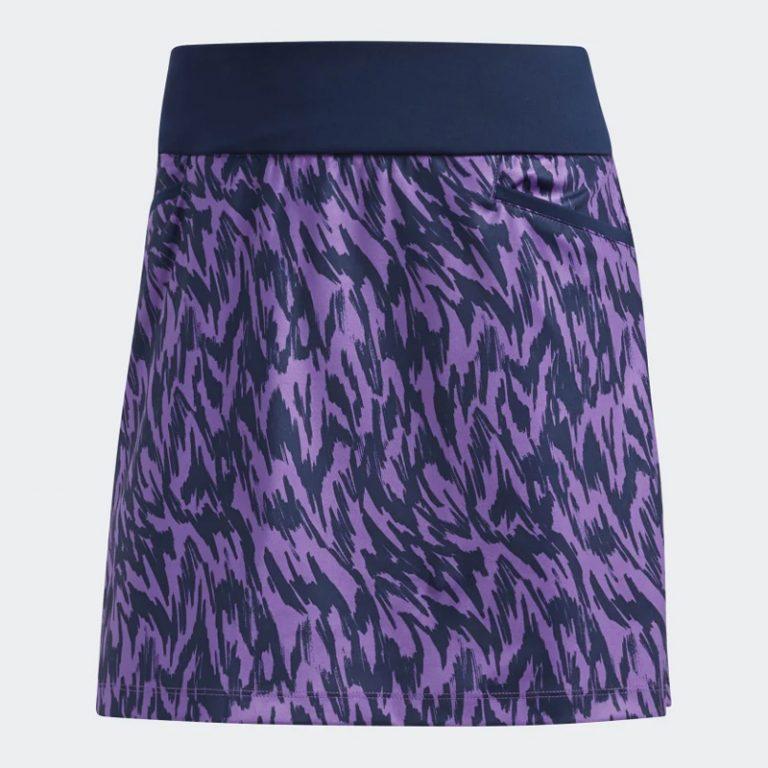 Jupe Adidas Motif Mauve 2019