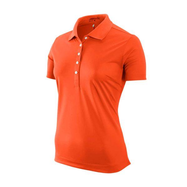Polo Nike Orange Femme