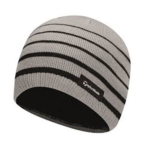 Tuque TaylorMade Rayé Noire Grise B1595901