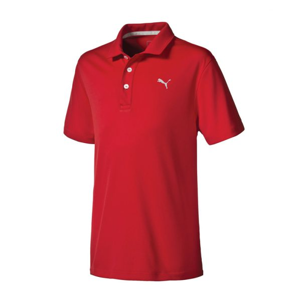 Polo Puma 570625-04 Rouge Junior
