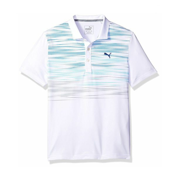 Polo Puma 572330-02 Blanc Junior