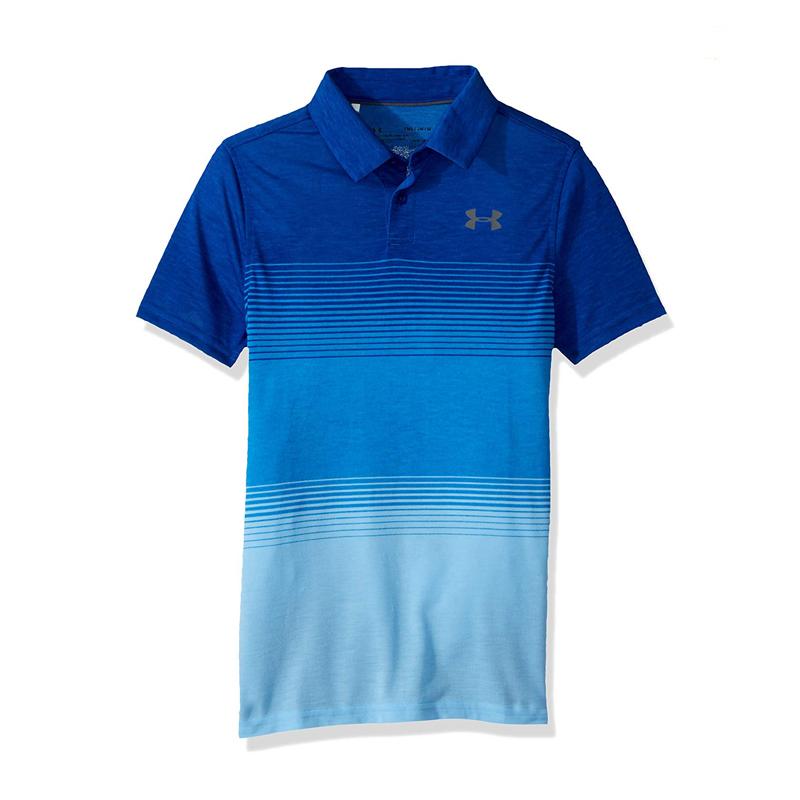 Polo UA 1325653-400 Bleu Raye Junior