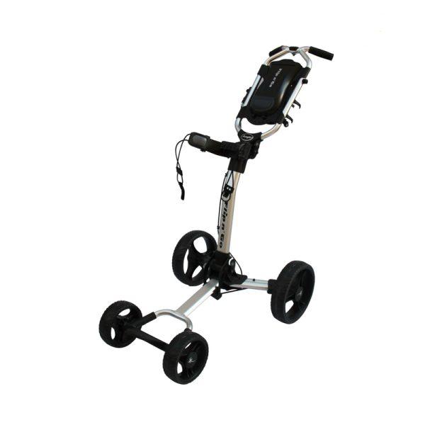 Chariot Axglo 4 roues Argent et noir
