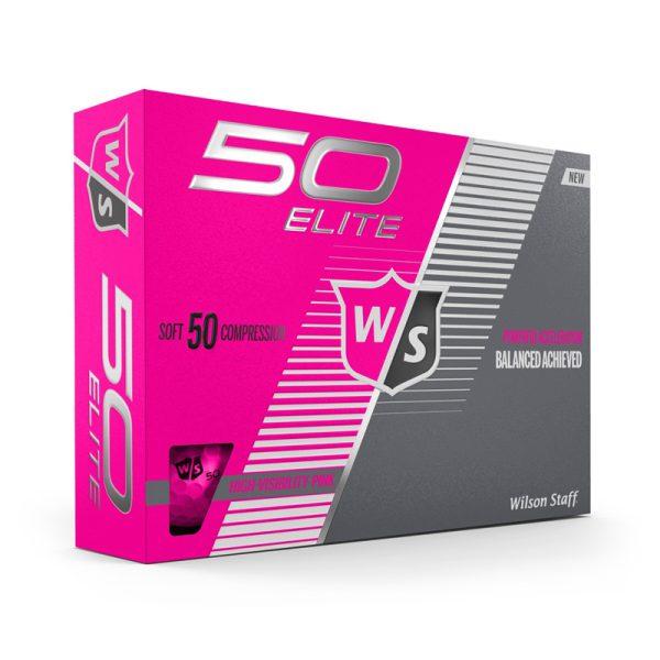 Balles Wilson 50 Elite Rose 2019 Rose