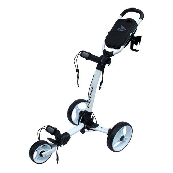 Chariot Axglo 3 roues Blanc et noir