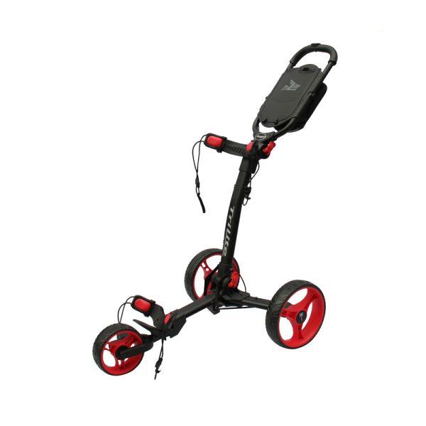 Chariot Axglo 3 roues Noir et rouge