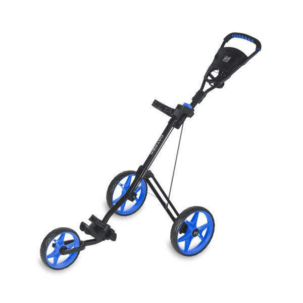 Chariot Datrek 3 roues noir et bleu