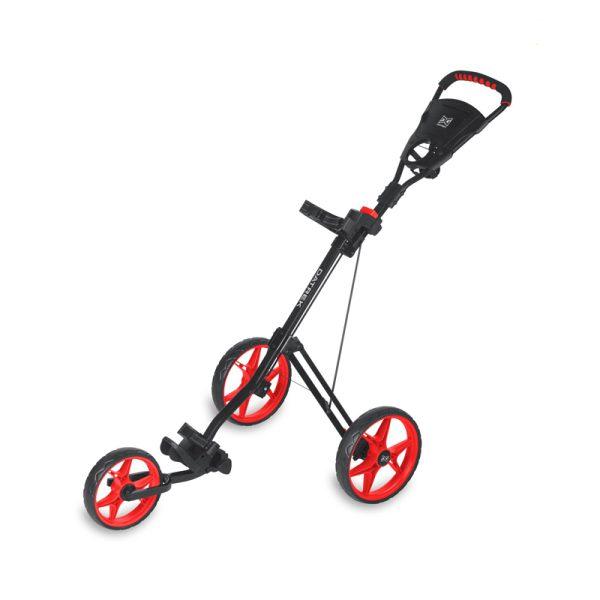 Chariot Datrek 3 roues Noir et rouge