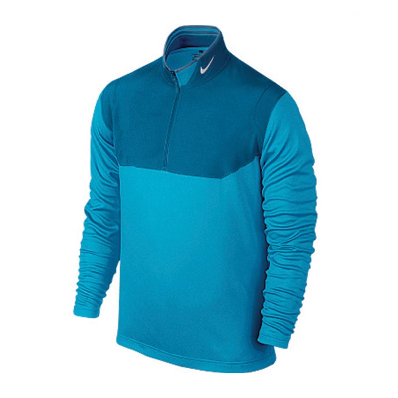 Quart Zip NIKE 639883-413 Bleu