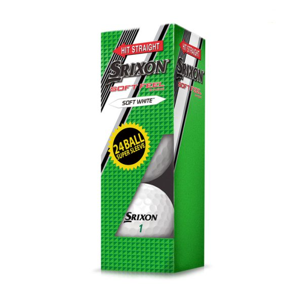 Balles SRIXON SOFT FEEL paquet 24