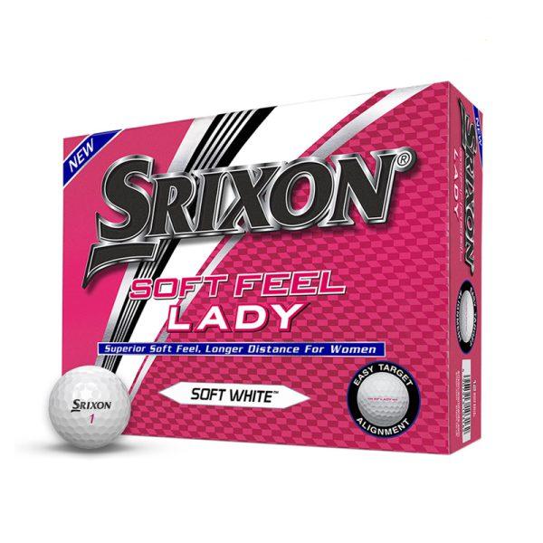 Balles Srixon Soft Feel Lady Douzaine