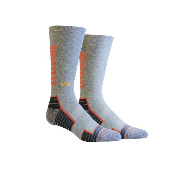Bas Puma 898437-03 gris orange