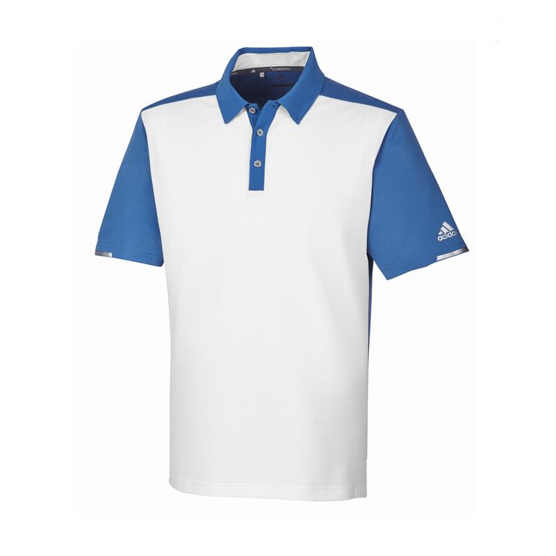 Polo Adidas CD9983 Blanc & bleu