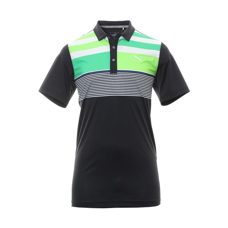 Polo Puma 572207-02 Noir et vert