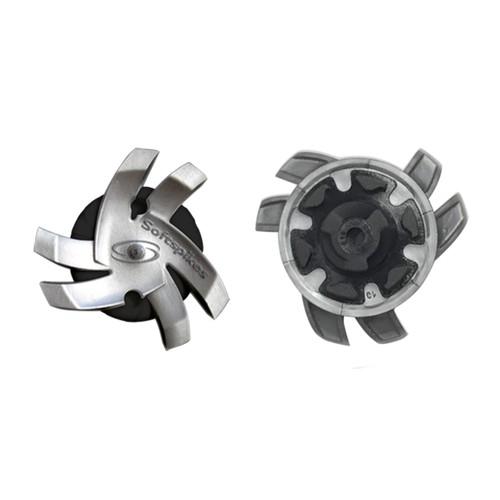 Spike Softspikes Silver & Black
