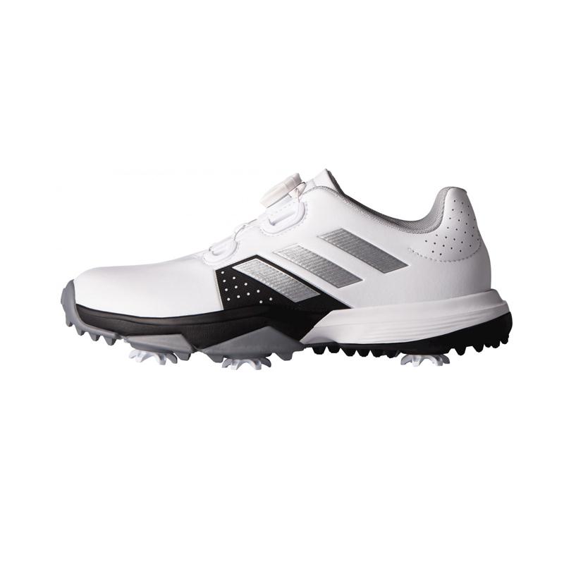 Souliers JR Adidas Adipower Boa F33535 Blanc