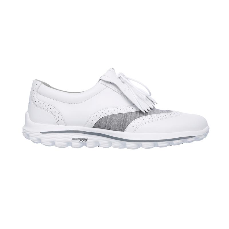 Souliers Skechers 13634 WGRY Blanc Femme